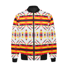 Visions of Peace Directions Unisex Heavy Bomber Jacket with Quilted Lining All Over Print Quilted Jacket for Men (H33) e-joyer