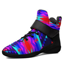 Visions of Peace Kid's Ipottaa Basketball / Sport High Top Shoes 49 Dzine US Child 12.5 / EUR 30 Black Sole with Black Strap
