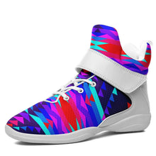 Visions of Peace Kid's Ipottaa Basketball / Sport High Top Shoes 49 Dzine US Child 12.5 / EUR 30 White Sole with White Strap
