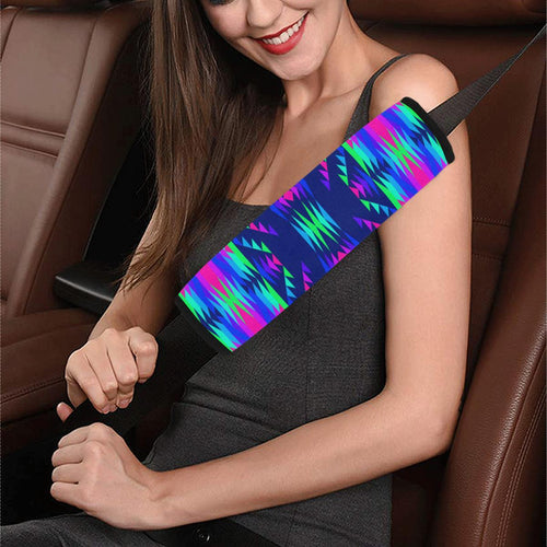 Visions of Peace Talks Car Seat Belt Cover 7''x12.6'' Car Seat Belt Cover 7''x12.6'' e-joyer