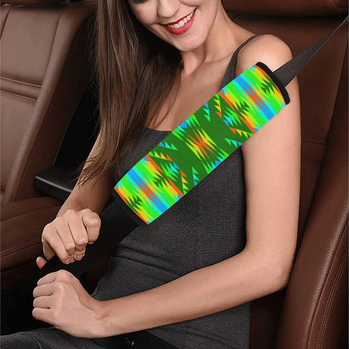 Visions of Peaceful Fall Car Seat Belt Cover 7''x12.6'' Car Seat Belt Cover 7''x12.6'' e-joyer