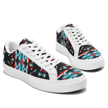 Visions of Peaceful Nights Aapisi Low Top Canvas Shoes White Sole 49 Dzine