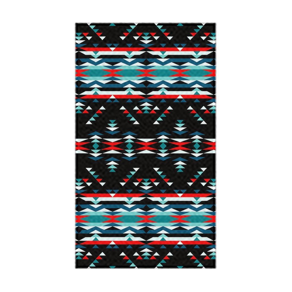 Visions of Peaceful Nights Flat Weave Rug 49 Dzine 22.5x37 inch With