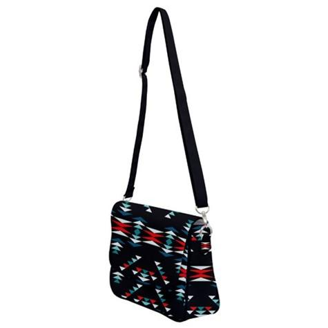 Visions of Peaceful Nights Shoulder Bag with Back Zipper 49 Dzine