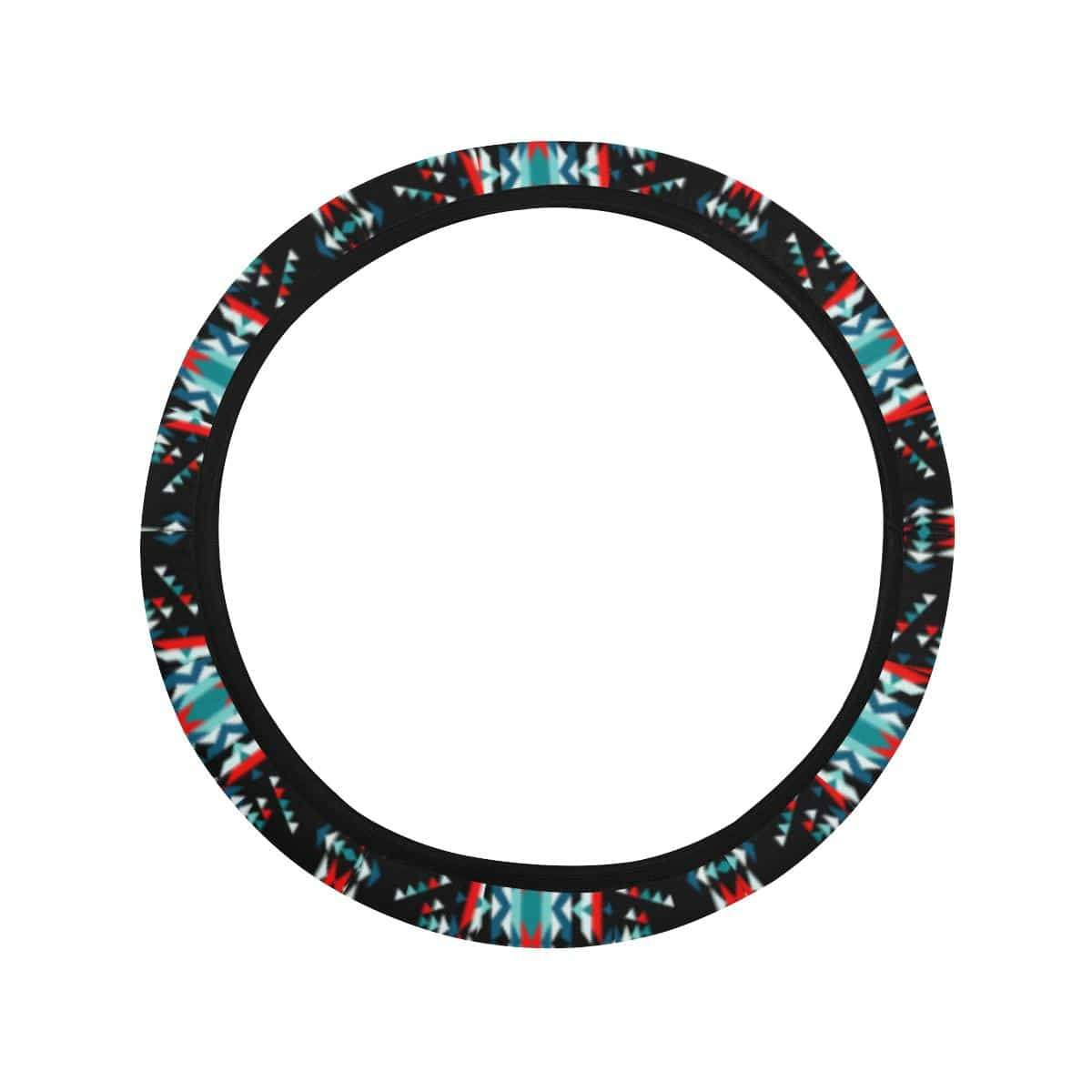 Visions of Peaceful Nights Steering Wheel Cover with Elastic Edge Steering Wheel Cover with Elastic Edge e-joyer
