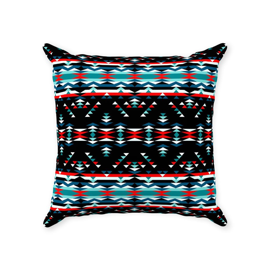 Visions of Peaceful Nights Throw Pillows 49 Dzine With Zipper Poly Twill 14x14 inch