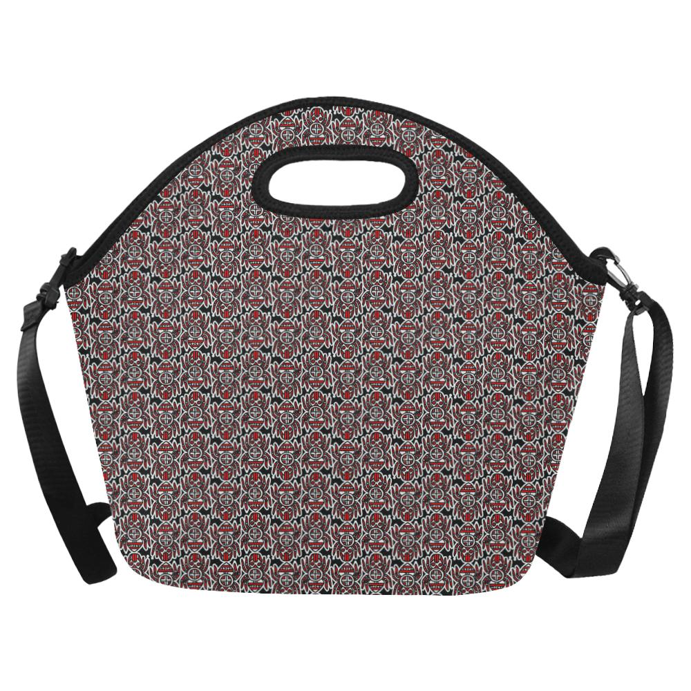 Water Spider Festival Large Insulated Neoprene Lunch Bag That Replaces Your Purse (Model 1669) Neoprene Lunch Bag/Large (1669) e-joyer