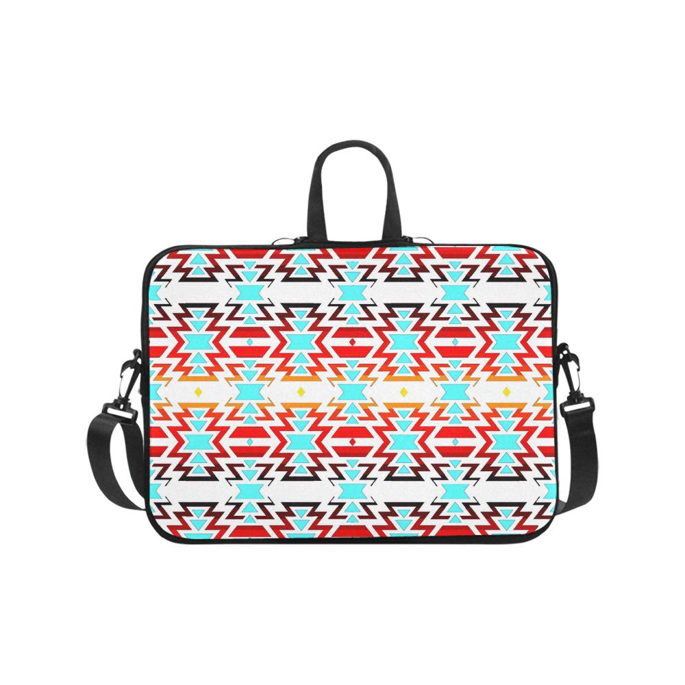 White Fire and Sky Laptop Handbags 17
