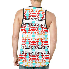 White Fire and Sky New All Over Print Tank Top for Men (Model T46) New All Over Print Tank Top for Men (T46) e-joyer