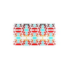 White Fire and Sky Women's Trifold Wallet Women's Trifold Wallet e-joyer