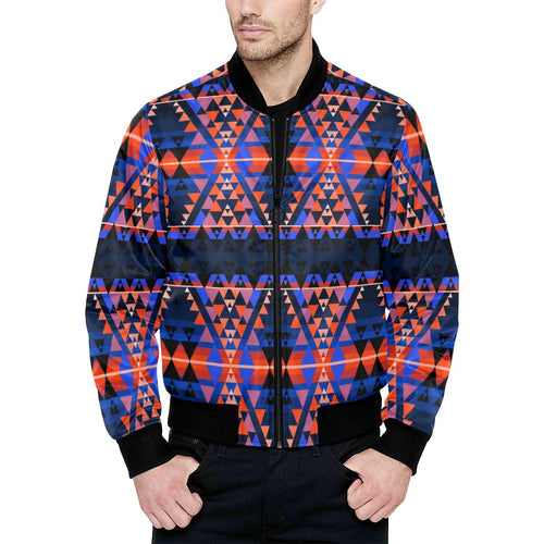 Writing on Stone Battle Unisex Heavy Bomber Jacket with Quilted Lining All Over Print Quilted Jacket for Men (H33) e-joyer
