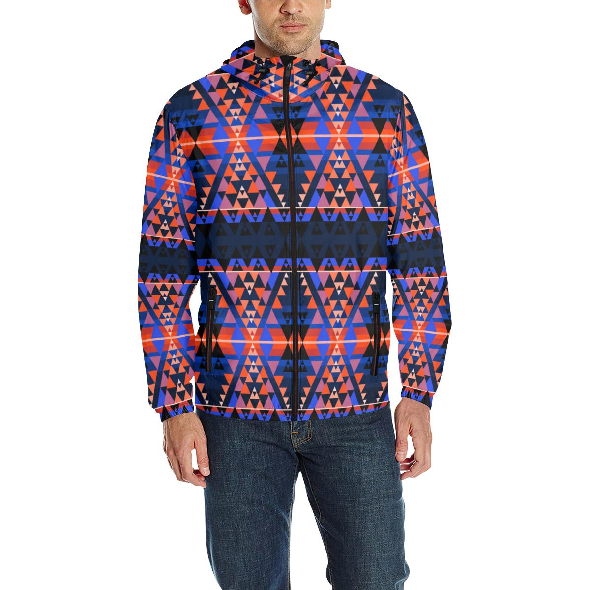 Writing on Stone Battle Unisex Quilted Coat All Over Print Quilted Windbreaker for Men (H35) e-joyer