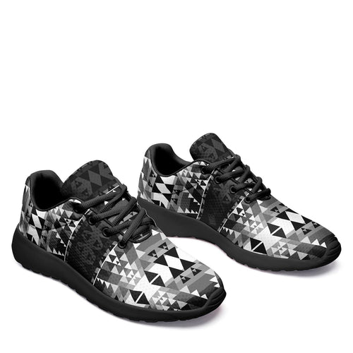 Writing on Stone Black and White Ikkaayi Sport Sneakers 49 Dzine