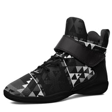 Writing on Stone Black and White Ipottaa Basketball / Sport High Top Shoes 49 Dzine