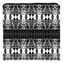 Writing on Stone Black and White Throw Pillows 49 Dzine Cover only-no insert Poly Twill 16x16 inch