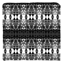 Writing on Stone Black and White Throw Pillows 49 Dzine Cover only-no insert Poly Twill 18x18 inch
