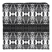 Writing on Stone Black and White Throw Pillows 49 Dzine Cover only-no insert Spun Polyester 14x14 inch