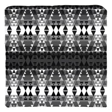 Writing on Stone Black and White Throw Pillows 49 Dzine Cover only-no insert Spun Polyester 16x16 inch