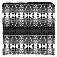 Writing on Stone Black and White Throw Pillows 49 Dzine Cover only-no insert Spun Polyester 18x18 inch