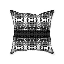 Writing on Stone Black and White Throw Pillows 49 Dzine With Zipper Poly Twill 16x16 inch