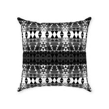 Writing on Stone Black and White Throw Pillows 49 Dzine With Zipper Poly Twill 18x18 inch