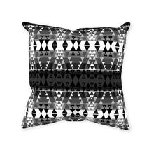 Writing on Stone Black and White Throw Pillows 49 Dzine With Zipper Spun Polyester 14x14 inch