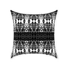 Writing on Stone Black and White Throw Pillows 49 Dzine With Zipper Spun Polyester 18x18 inch