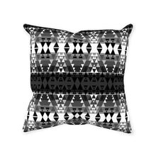 Writing on Stone Black and White Throw Pillows 49 Dzine Without Zipper Spun Polyester 14x14 inch