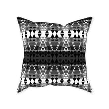 Writing on Stone Black and White Throw Pillows 49 Dzine Without Zipper Spun Polyester 16x16 inch