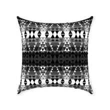 Writing on Stone Black and White Throw Pillows 49 Dzine Without Zipper Spun Polyester 18x18 inch