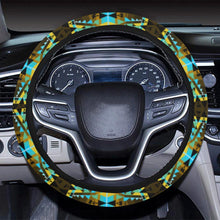 Writing on Stone Broken Lodge Steering Wheel Cover with Elastic Edge Steering Wheel Cover with Elastic Edge e-joyer