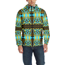 Writing on Stone Broken Lodge Unisex Quilted Coat All Over Print Quilted Windbreaker for Men (H35) e-joyer