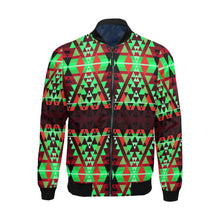 Writing on Stone Enemy Chase All Over Print Bomber Jacket for Men/Large Size (Model H19) All Over Print Bomber Jacket for Men/Large (H19) e-joyer