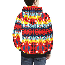 Writing on Stone Enemy Retreat Kids' All Over Print Hoodie (Model H38) Kids' AOP Hoodie (H38) e-joyer