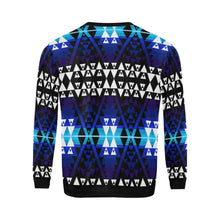WRiting on Stone Night All Over Print Crewneck Sweatshirt for Men/Large (Model H18) Crewneck Sweatshirt for Men/Large (H18) e-joyer