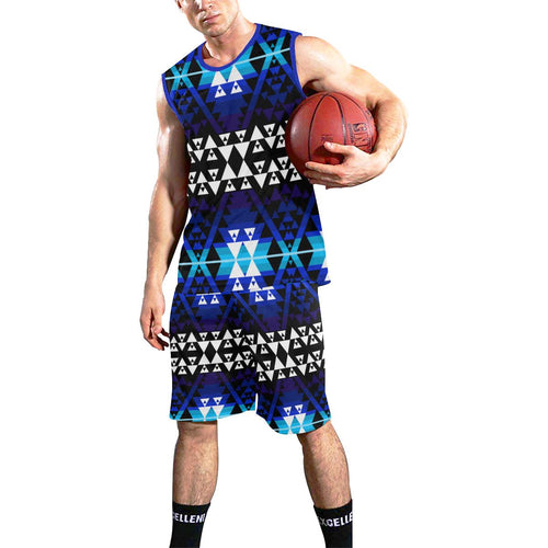 Writing on Stone Night Watch All Over Print Basketball Uniform Basketball Uniform e-joyer