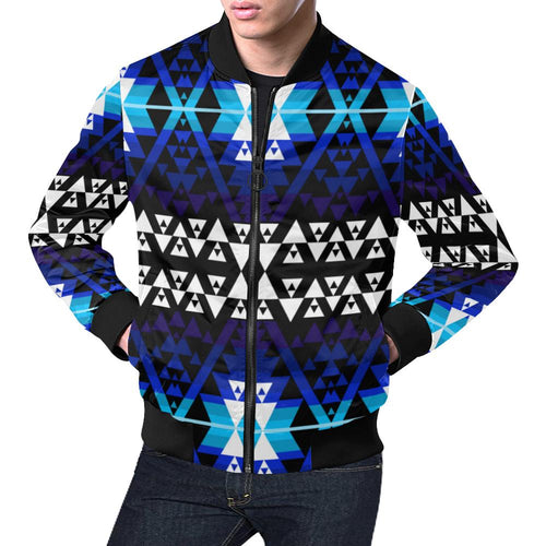 WRiting on Stone Night Watch All Over Print Bomber Jacket for Men/Large Size (Model H19) All Over Print Bomber Jacket for Men/Large (H19) e-joyer