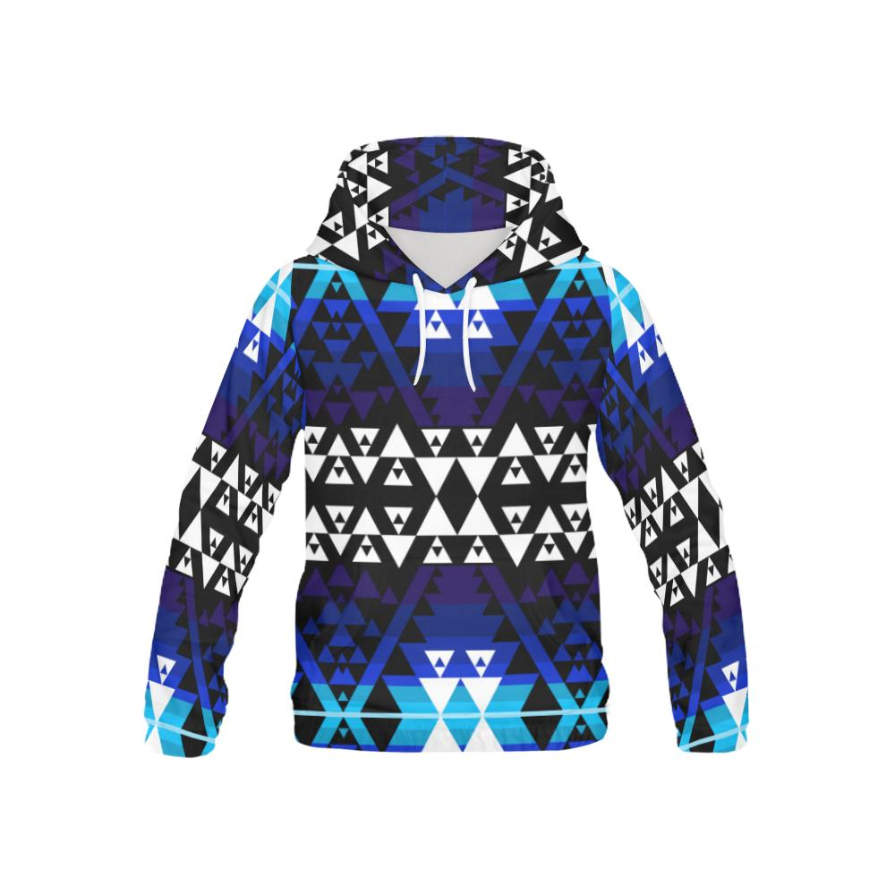 WRiting on Stone Night Watch All Over Print Hoodie for Kid (USA Size) (Model H13) All Over Print Hoodie for Kid (H13) e-joyer