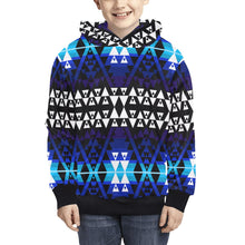 Writing on Stone Night Watch Kids' All Over Print Hoodie (Model H38) Kids' AOP Hoodie (H38) e-joyer