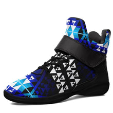 Writing on Stone Night Watch Kid's Ipottaa Basketball / Sport High Top Shoes 49 Dzine US Child 12.5 / EUR 30 Black Sole with Black Strap