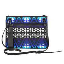WRiting on Stone Night Watch Slim Clutch Bag (Model 1668) Slim Clutch Bags (1668) e-joyer