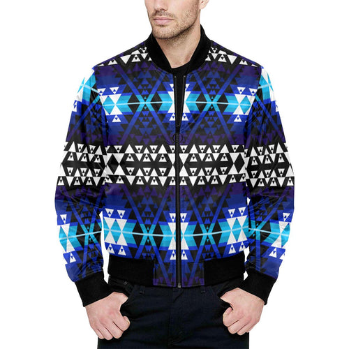 WRiting on Stone Night Watch Unisex Heavy Bomber Jacket with Quilted Lining All Over Print Quilted Jacket for Men (H33) e-joyer