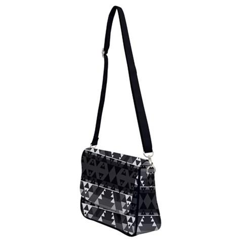 Writing on Stone Shoulder Bag with Back Zipper 49 Dzine