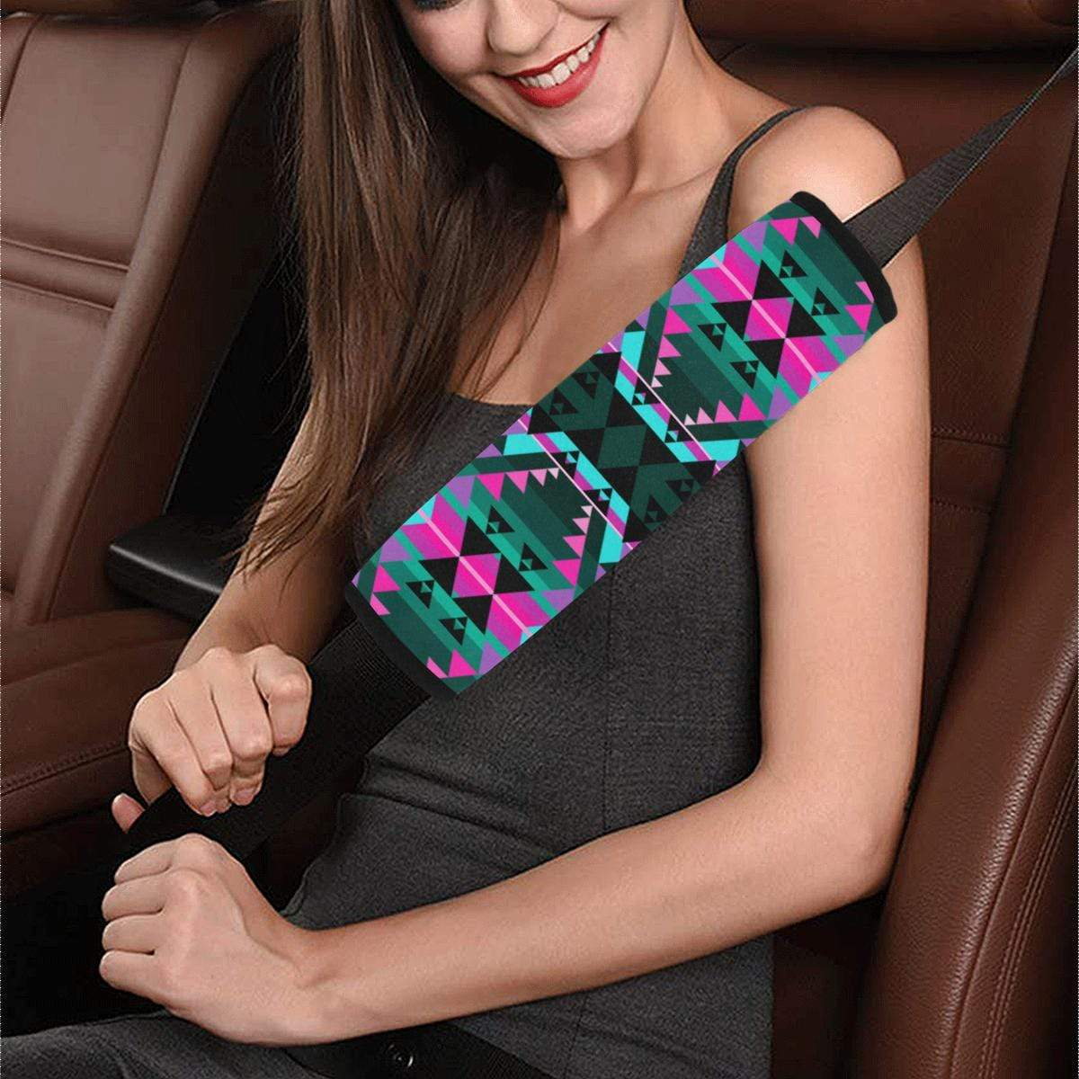 Writing on Stone Sunset Car Seat Belt Cover 7''x12.6'' Car Seat Belt Cover 7''x12.6'' e-joyer