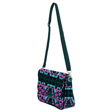 Writing on Stone Sunset Shoulder Bag with Back Zipper 49 Dzine