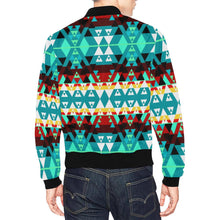Writing on Stone Wheel All Over Print Bomber Jacket for Men/Large Size (Model H19) All Over Print Bomber Jacket for Men/Large (H19) e-joyer