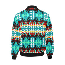 Writing on Stone Wheel Unisex Heavy Bomber Jacket with Quilted Lining All Over Print Quilted Jacket for Men (H33) e-joyer
