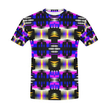 Yellow Moon Shadow Sage All Over Print T-Shirt for Men (USA Size) (Model T40) All Over Print T-Shirt for Men e-joyer
