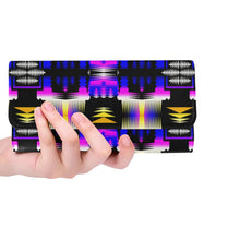 Yellow Moon Shadow Sage Women's Trifold Wallet Women's Trifold Wallet e-joyer