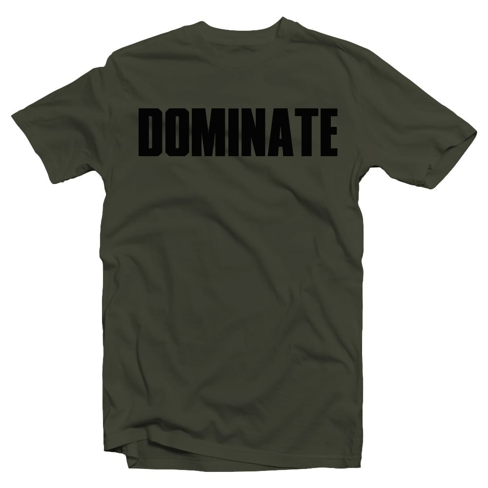 Merciless Athletics Military Green Dominate Shirt
